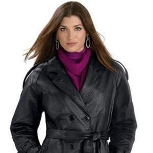 Giacca Gallery Company Dress Length Polyvinyl Coat